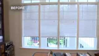 A Diy Window Treatment Makeover