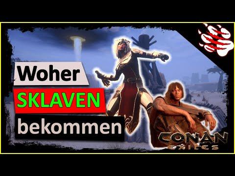 ► Conan Exiles Beginnersguide 🦌 - #002: Sklaven, Sklaverei & ihr Fang