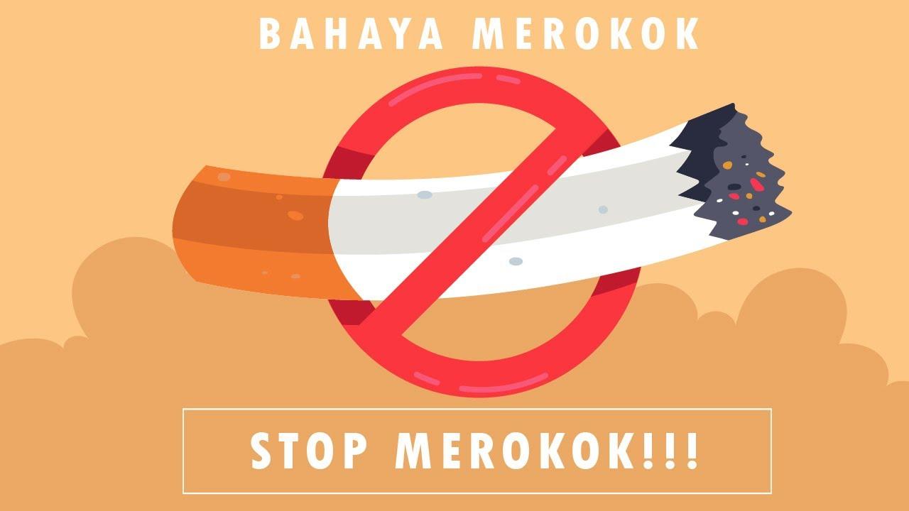 Bahaya Merokok Gambar Animasi Bahaya Merokok Berhentilah Merokok Motion Graphic Youtube
