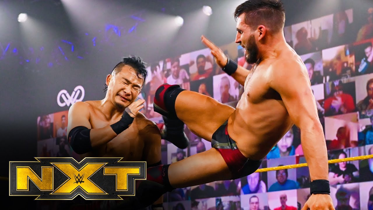 Kushida & Ruff vs. Gargano & Theory – Dusty Rhodes Tag Team Classic: WWE NXT, Jan. 20, 2021