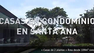 CASAS EN CONDOMINIO EN SANTA ANA