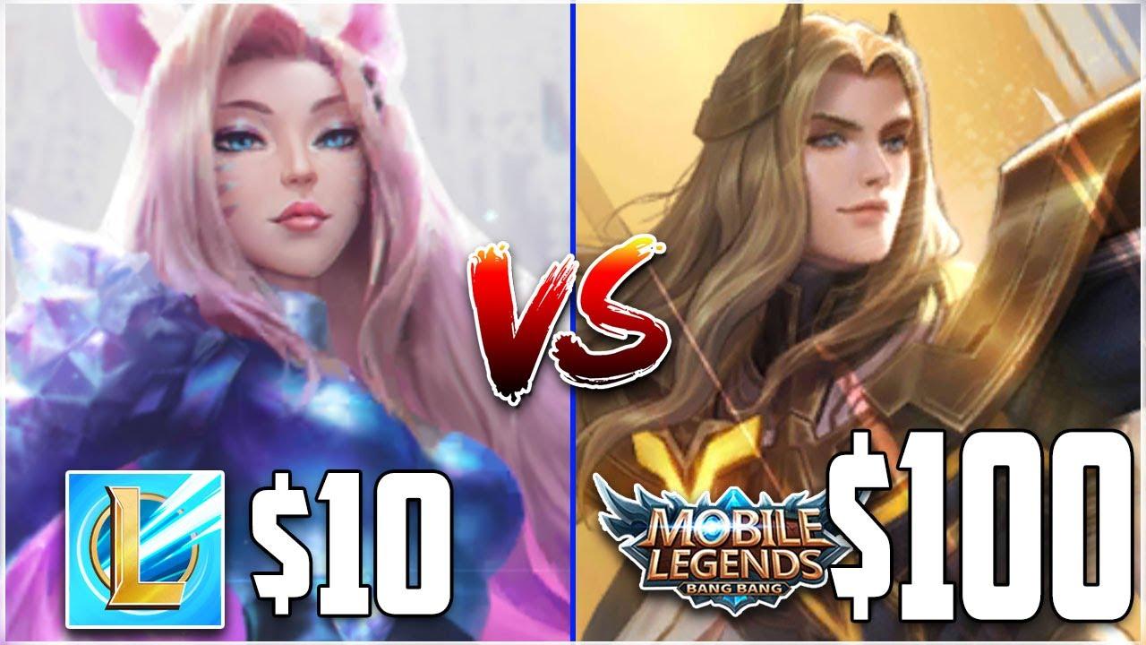 Skin Price Comparison: Mobile Legends vs LoL Wild Rift