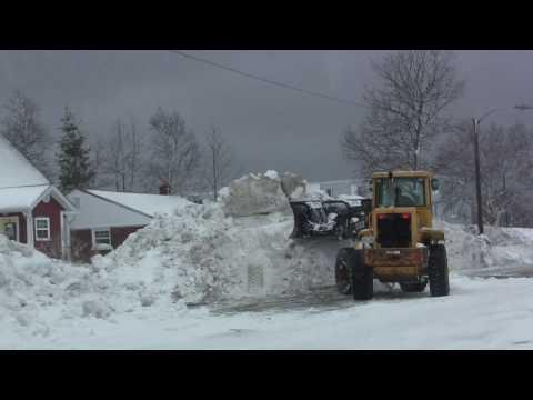 Gander Newfoundland - April Fools Day Snowfall