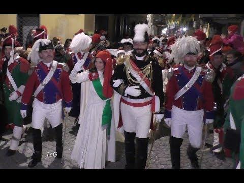 Sfilata della Mugnaia e Generale sabato sera - Carnevale Ivrea 2018