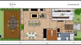 Hướng dẫn cài đặt và sử dụng phần mềm thiết kế nội thất sweet home 3d