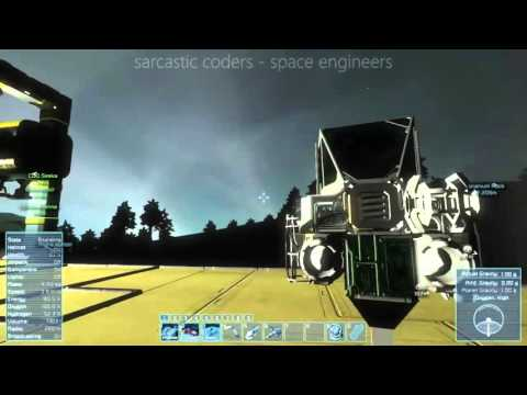 Sarcastic Coders play Space Engineers S01E17