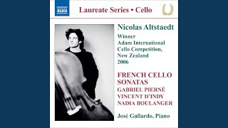Cello Sonata in D Major, Op. 84: III. Air: Tres lent