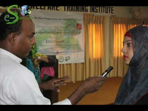 Radio Coverage of Capacity Building Workshop on Save Environment Save Your Own Self