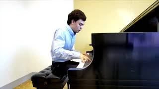 Jeremy Burroughs plays Beethoven's Sonata Op. 7