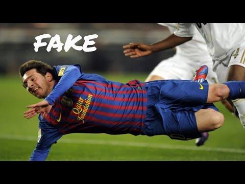 Lionel Messi Crazy Fake Dives