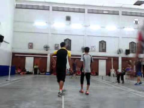 Badminton sirkit taiping perak u15