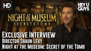 Director Shawn Levy Interview - Night At The Museum: Secret Of The Tomb