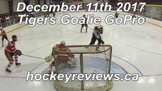 December 11th 2017 Tigers Hockey Goalie GoPro