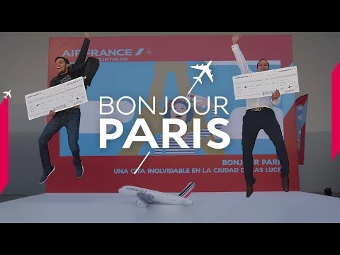 Air France - Bonjour Paris event in Mexico City