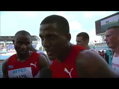 IAAF World Relays Bahamas 2014 - Mixed Zone 1 Lap Race Cayman Islands men Round