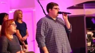 Jordan Smith The Voice-- Southeast KY MAss Choir Take Me to the King