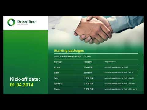 One-Line-Online The Green Line Network Marketing Income Opportunity Presentation