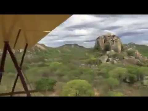 VintageAirRally flying over the Matopos National Park by Inspiration Zimbabwe