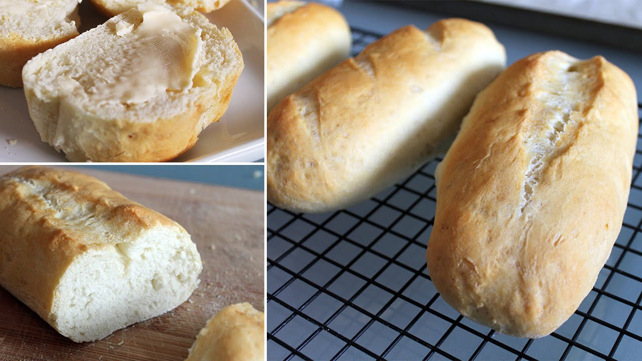 Simple homemade french bread youtube simple homemade french bread solutioingenieria Image collections