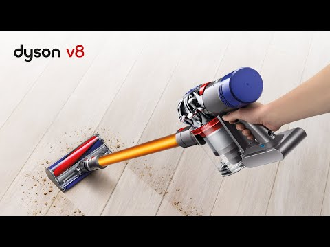 Dyson V8 - There Is No Hiding Place For Dirt - Official Dyson Video