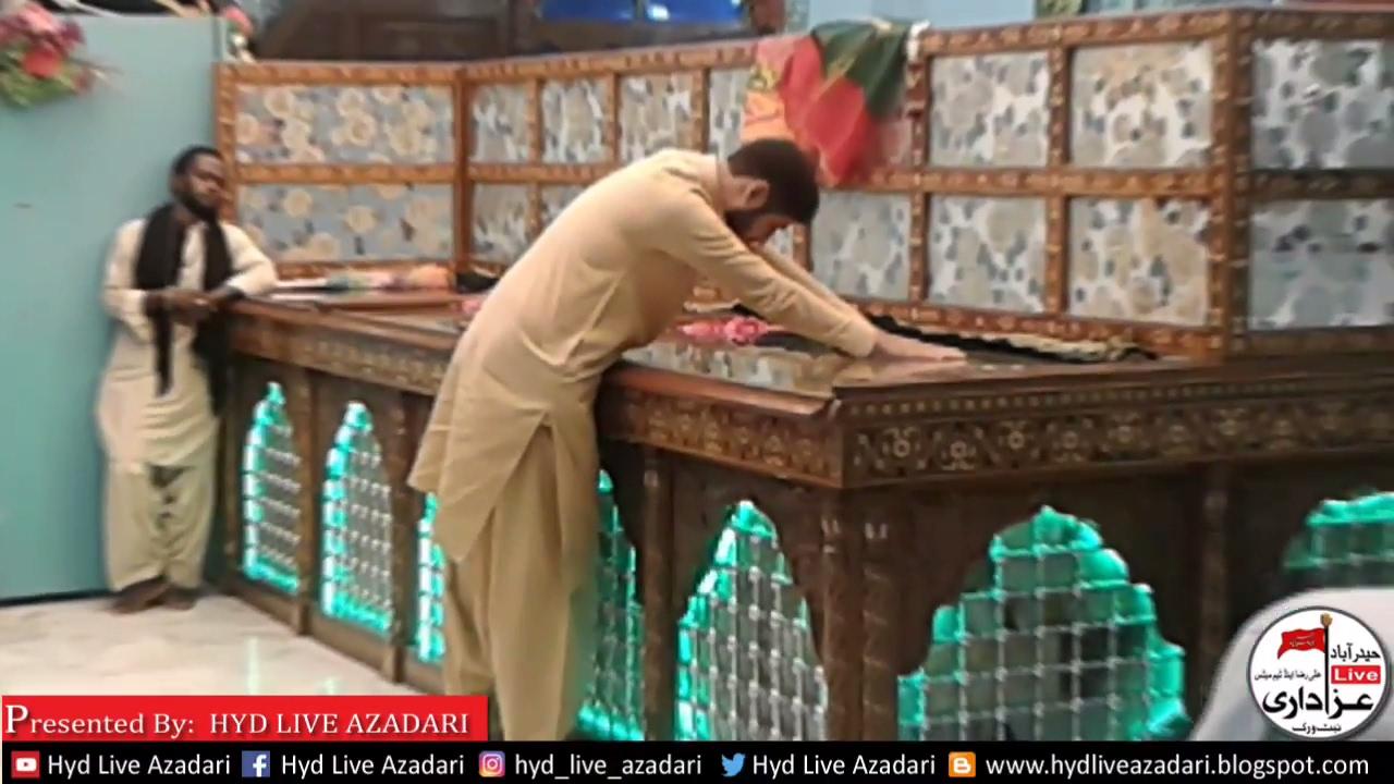 Exclusive Recording Qadam Gah Mola Ali as Hyderabad - YouTube
