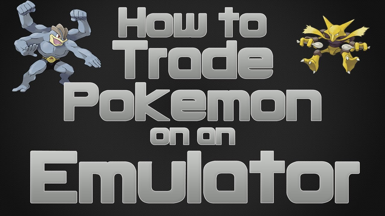 How to trade Pokemon with Yourself Using an Emulator (VBA)(GBC and GBA  games)