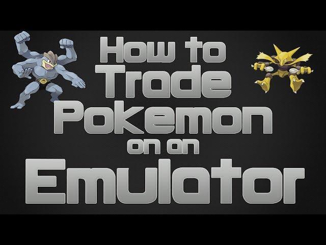 pokemon emulator trading with yourself