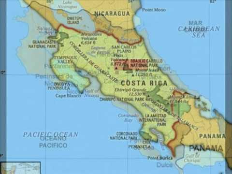 Mapa De Costa Rica.Mapas De Costa Rica