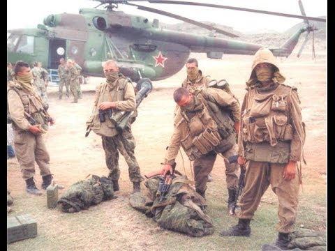 Russian special troops of GRU Dagestan 1999