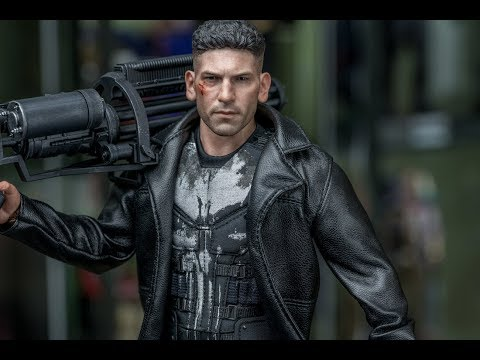Hot Toys Punisher 1/6 Scale Figure Review (4K)