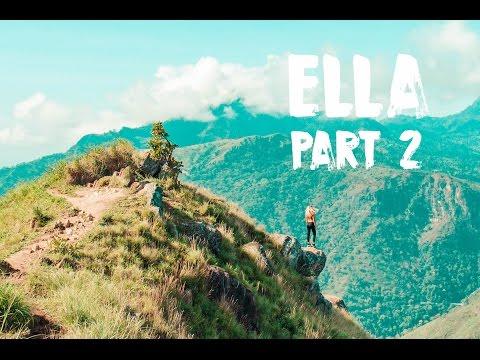 ELLA AND HAPUTALE, SRI LANKA - CLIMBING LITTLE ADAM'S PEAK AND LIPTON'S SEAT   VLOG #37
