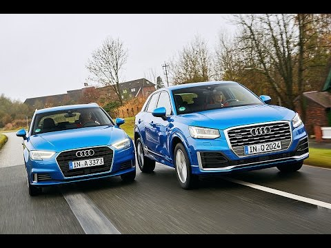 2017 audi a3 sportback vs 2016 audi q2 youtube. Black Bedroom Furniture Sets. Home Design Ideas