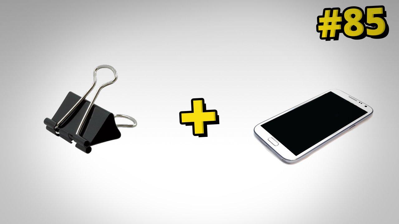 Jak zrobić szybki i prosty stojak na telefon