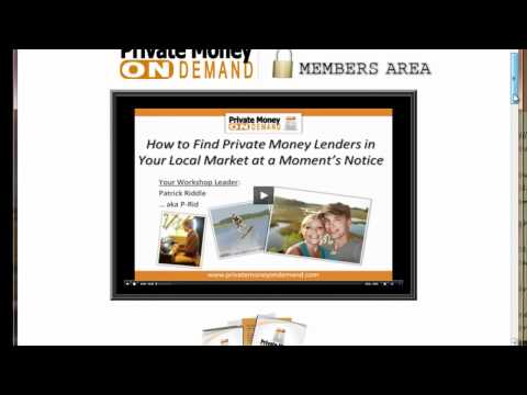 How To Get Investors Using Patrick Riddle Private Money On Demand