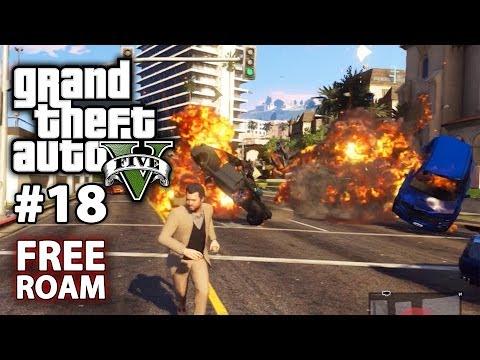 FIVE STAR DEATH RAMPAGE -- Grand Theft Auto V #18