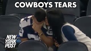 No one can console viral Cowboys fan during ugly loss to Cardinals | New York Post