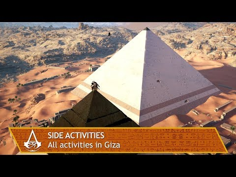 Assassin's Creed Origins - All side activities in Giza