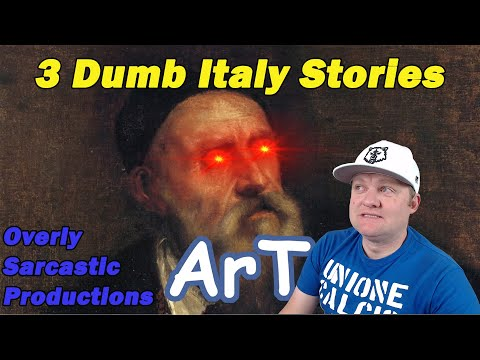 3 Dumb Italy Stories by Overly Sarcastic Productions | A History Teacher Reacts