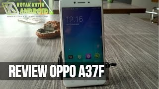 Review Oppo A37F Gold RAM 2 GB Internal 16 GB (Indonesia)