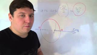 Алгебра 10 класс. 18 октября. Что такое arccos арккосинус