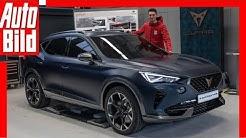Cupra Formentor (2019) SUV-Coupé der Seat-Tochter / Neuvorstellung / Sitzprobe