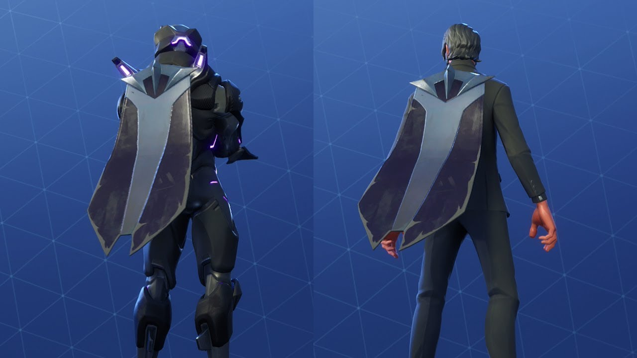 Fortnite Cape omen's cape showcased on different skins - fortnite battle royale