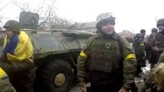 Бои под Саханкою силовики идут в наступление, Донбасс, АТО, Украина