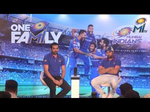 MI Pre-Season Press Conference | LIVE - Rohit Sharma & Zaheer Khan | IPL 2019