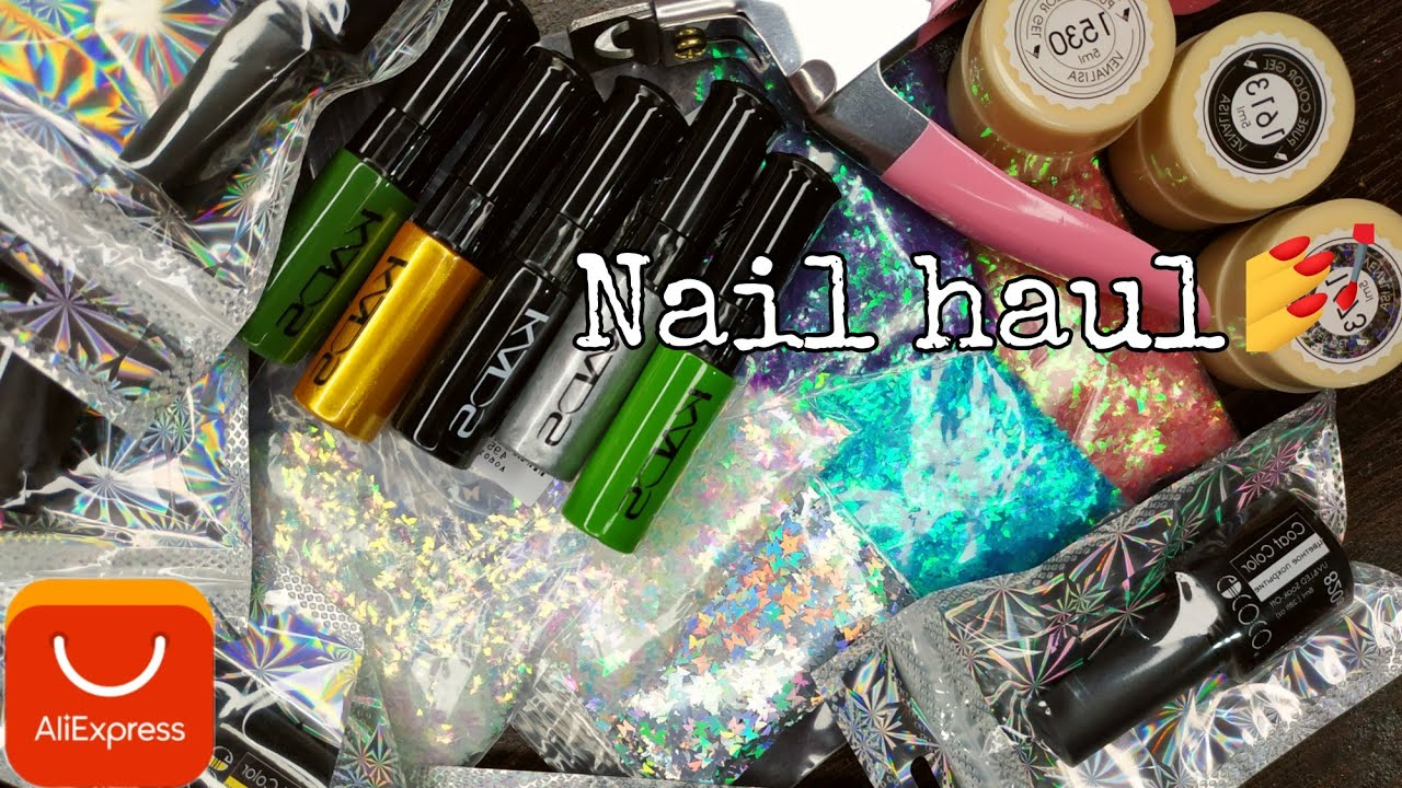 Aliexpress haul   Nail supply haul for beginners   part 8