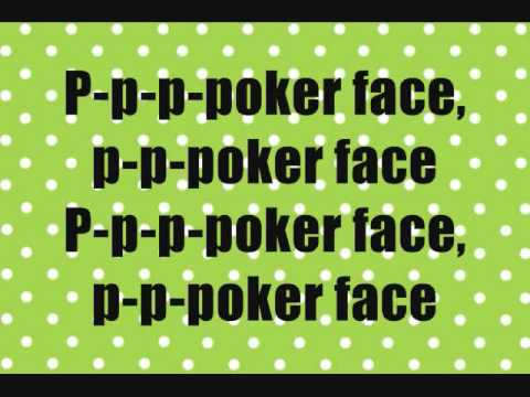 Lirik poker face translate