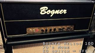 Download Bogner Helios 100 - 70s Mode (Crunch) MP3 song and Music Video