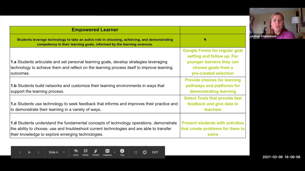Seamlessly Integrate ISTE Standards to Develop Digitally-Literate Students.