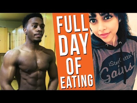 FULL DAY OF EATING TO GET SHREDDED - My Cutting Diet Meal By