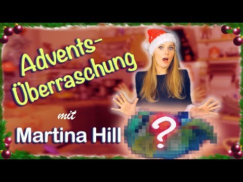 Supercoole Advents-Überraschung mit Martina Hill